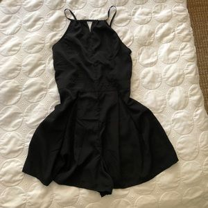 Black jumpsuit. Once used